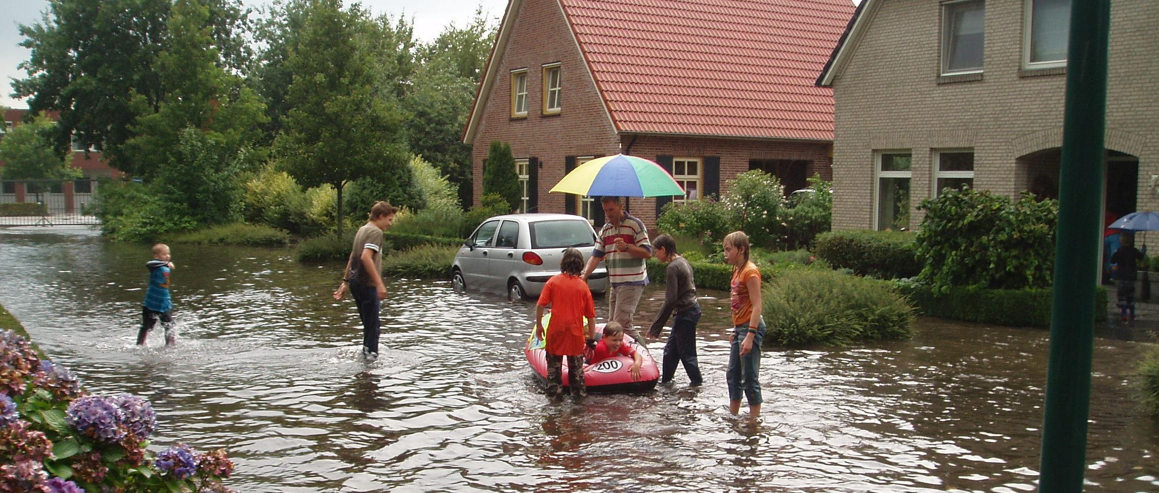 Wateroverlast Aa en Maas